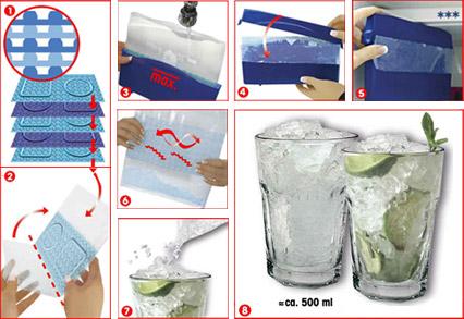 5 sek crushed ice maker von fackelmann bedienungsanleitung. Black Bedroom Furniture Sets. Home Design Ideas